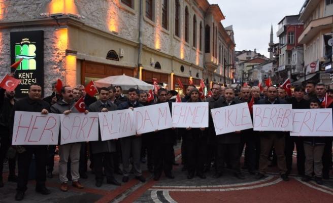 Zeytin Dalı Harekatına destek...
