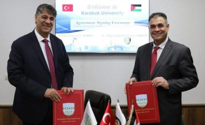 KBÜ ile Al-Balqa Applied Üniversitesi ile protokol
