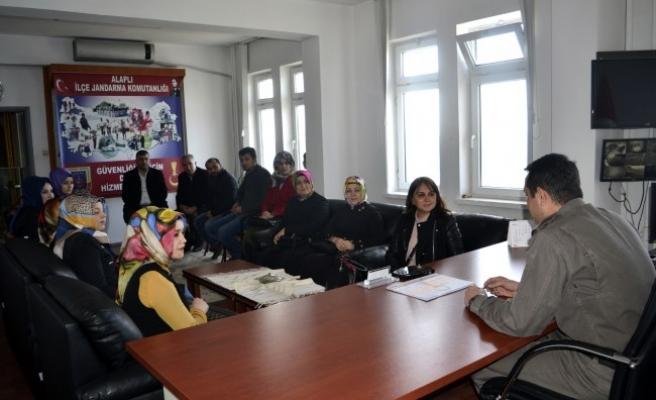 AK Parti'den Üsteğmen Gençer'e ziyaret