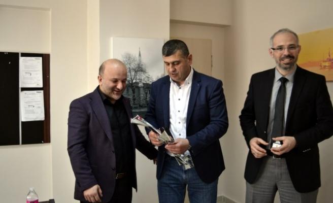 Başkan Yavuz 14 Mart Tıp Bayramı'nı Kutladı