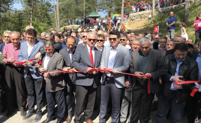 Yenice'de seyir terası açıldı