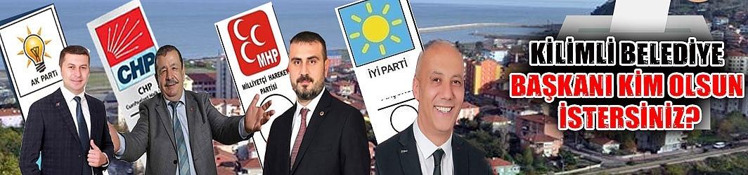 Kilimli Belediye Başkanı kim olsun istersiniz?