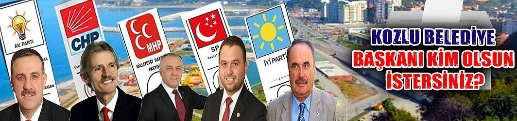 Kozlu Belediye Başkanı kim olsun istersiniz?