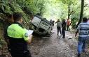 Kilimli'de kaza! 1 yaralı!
