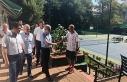 Vali Çınar tenis kortunu inceledi!