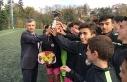 Vali Bektaş, Futbol turnuvasına katıldı