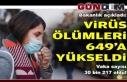 Türkiye'de 649 can aldı, vaka sayısı 30 bin...