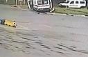 Güvenlik görevlisinin öldüğü kaza anı kamerada
