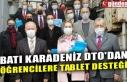 BATI KARADENİZ DTO'DAN ÖĞRENCİLERE TABLET...