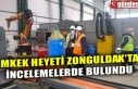 MKEK HEYETİ ZONGULDAK'TA İNCELEMELERDE BULUNDU