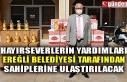 HAYIRSEVERLERİN YARDIMLARI BELEDİYE KANALINCA SAHİPLERİNE...