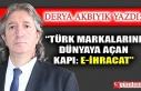 """""""Türk Markalarını Dünyaya Açan Kapı: E-İhracat"""""""