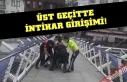 İntihar edecekti, Polisler yakaladı!