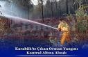 Karabük'te Çıkan Orman Yangını Kontrol Altına...