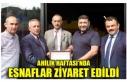 AHİLİK HAFTASI'NDA ESNAFLAR ZİYARET EDİLDİ