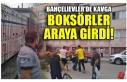 BAHÇELİEVLER'DE KAVGA BOKSÖRLER ARAYA GİRDİ!