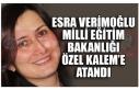 ESRA VERİMOĞLU MİLLİ EĞİTİM BAKANLIĞI ÖZEL...