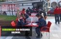 Jandarmalar kan bağışında bulundu