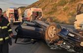 Alaplı'da feci kaza: 5 yaralı