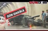 Değirmenağzı Tünelinde kaza... 3 kişiden biri hayatını kaybetti.