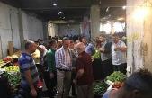 Başkan Alan, pazar esnafını ziyaret etti