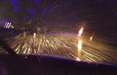 Zonguldak sapça mevki kar yağışı yol kaygan!
