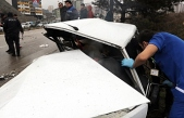 Feci kaza! Araç karşı şeride geçti…1 ölü, 4 yaralı