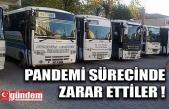 EREĞLİ HALK OTOBÜSLERİ ZARARDA...