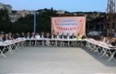 İki bin kişiye iftar verdi