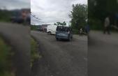 Çaycuma'da kaza; 1 yaralı