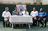 Milli Tenisçi Zonguldak'ta gösteri maçı oynadı