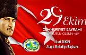 Nuri Tekin'den 29 Ekim Cumhuriyet Bayramı mesajı