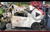 Otomobil TIR'la çarpıştı: 5 kişi hayatını kaybetti