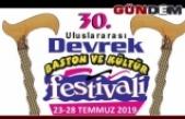 Devrek'te festival programı belli oldu