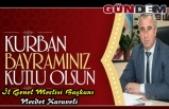 Başkan Karaveli Kurban Bayramını kutladı