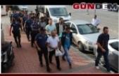 FETÖ sanıklarından 7'si tutuklandı