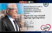Başkan Posbıyık Ramazan Bayramını Kutladı