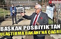 """BAŞKAN POSBIYIK'TAN ULAŞTIRMA BAKANI'NA ÇAĞRI """"SİZE HAMSİ BUĞULAMA YAPARIZ, EREĞLİ'YE DE GELİN"""""""
