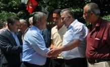 Milletvekili adayı Ünal'a Yenice'de coşkulu karşılama