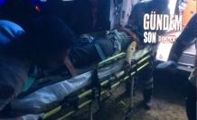 Traktör devrildi; 8 kişi yaralandı