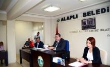 Alaplı'da Ekim ayı meclis toplantısı yapıldı