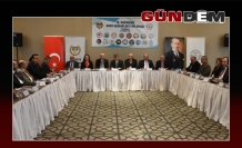 Metin Feyzioğlu Zonguldak'ta