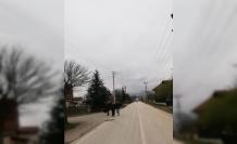 Vali Dağlı talimat verdi yurt yolu aydınlatıldı