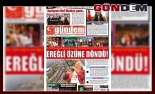 01 HAZİRAN 2019 CUMARTESİ GÜNDEM GAZETESİ