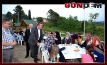 Başkan Tekin, vatandaşlarla iftar yaptı