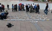 Öğrenciler Model Uçak yarışmasında hünerlerini sergiledi