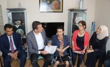 Kas hastası Abdullah, evde eğitim ile okul birincisi olarak mezun oldu