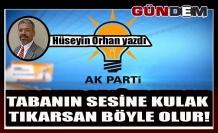 TABANIN SESİNE KULAK TIKARSAN BÖYLE OLUR!