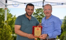 15 Temmuz Gazisi Sabri Gündüz'den Rektör Uzun'a teşekkür