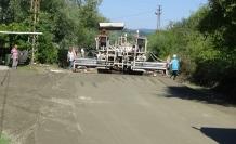 Beton yol santrali ile 11 ayda 12 milyon tasarruf